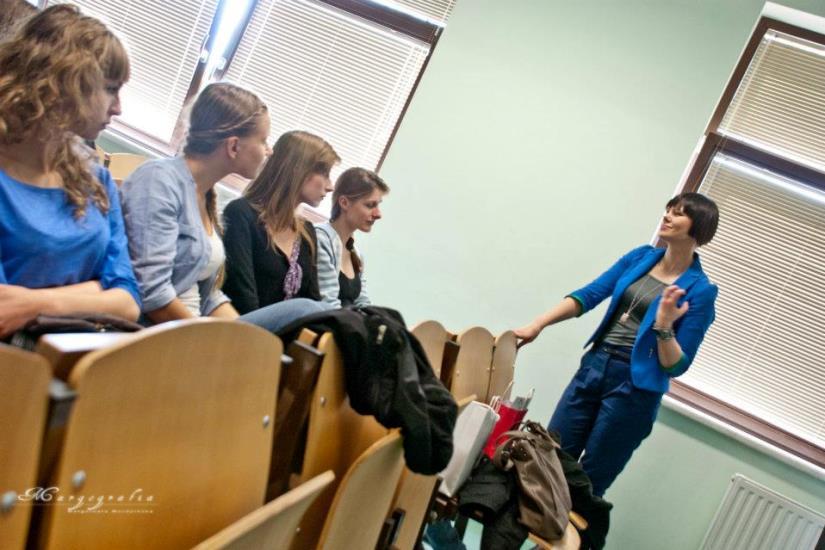 Wykład o modzie - Modnie być sobą - Dorota Szcześniak-Kosiorek